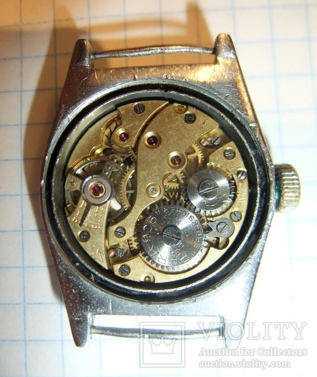 Часы Para Neptun Bruchsicher Германия 1930 - 1940 годы на ходу., фото №4