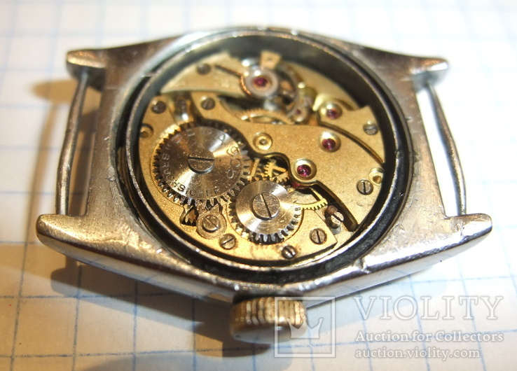 Часы Para Neptun Bruchsicher Германия 1930 - 1940 годы на ходу., фото №6