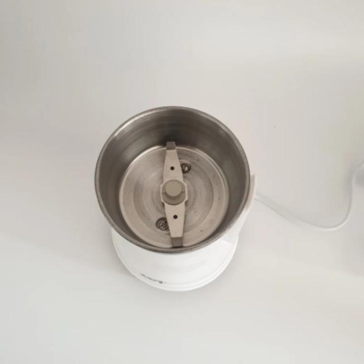 Кофемолка бытовая измельчитель нержавеющая сталь D&T Smart DT-594 200Вт, фото №3