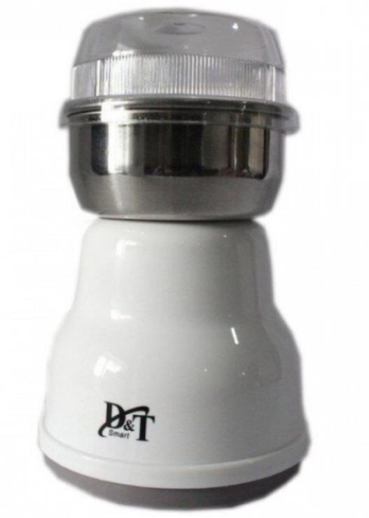 Кофемолка бытовая измельчитель нержавеющая сталь D&T Smart DT-594 200Вт, фото №5