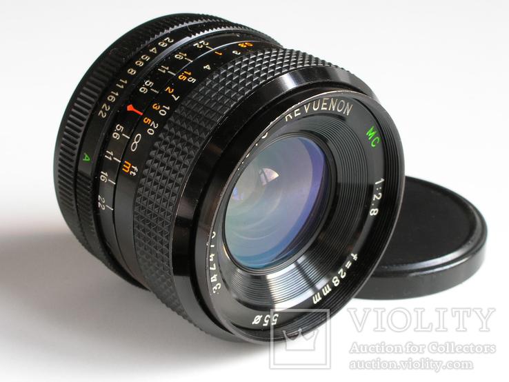 Revuenon MC 2,8/28 для Canon FD, фото №2