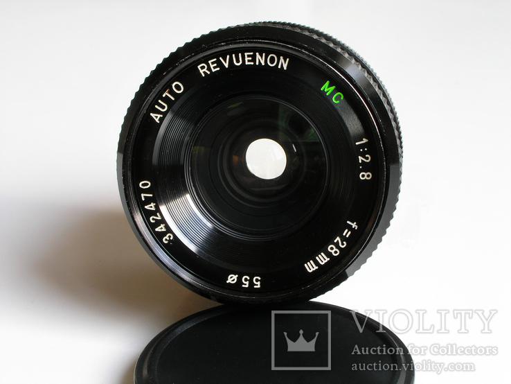 Revuenon MC 2,8/28 для Canon FD, фото №3