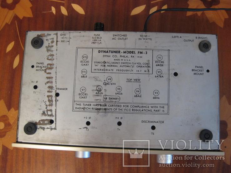 Радиоприемник,тюнер Dynatuner FM-3, фото №12