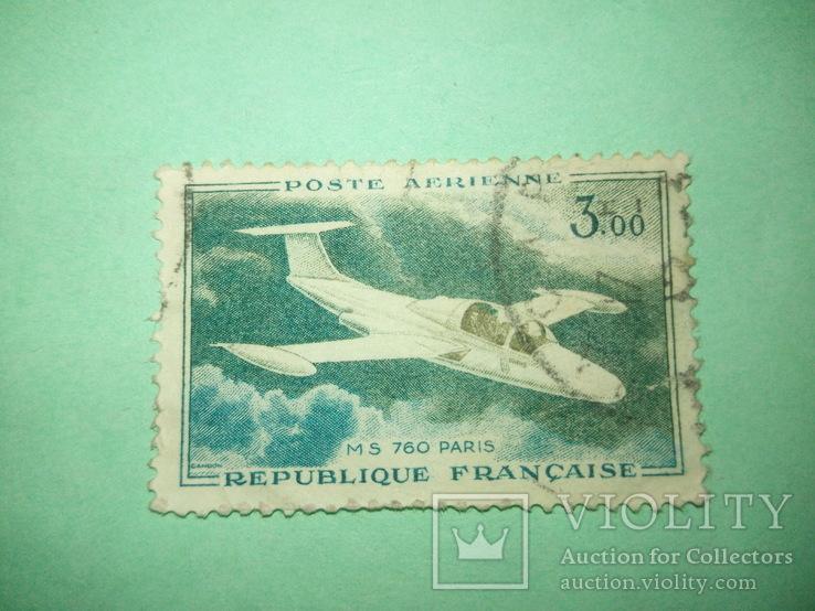 Марка Франции 1
