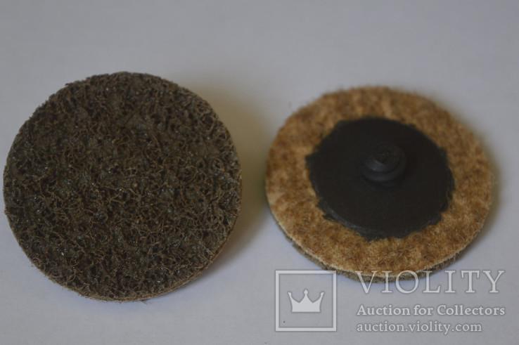 Круг скотч-брайт Roloc 50 мм P80 коричневый