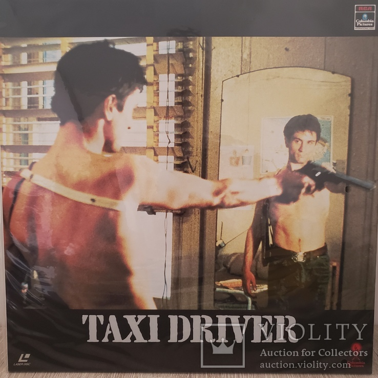 Лазердиск. Laserdisc. Ld. Фильм. Taxi Driver.Таксист, фото №3