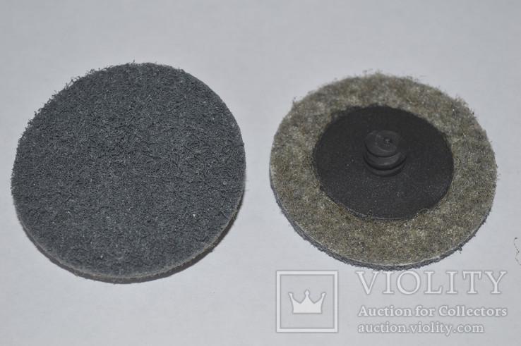 Круг скотч-брайт Roloc 50 мм P240 серый
