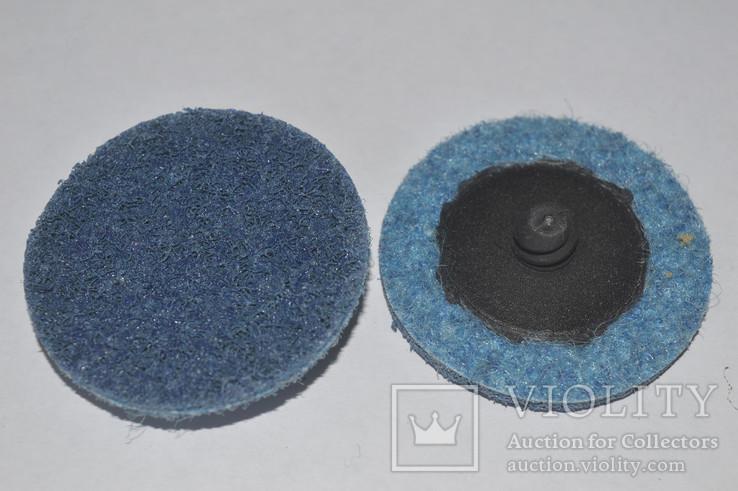 Круг скотч-брайт Roloc 50 мм P180 синий
