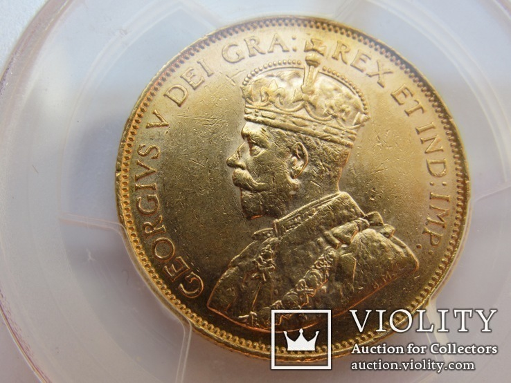 10 долларов 1913 г. Канада (AU58), фото №8