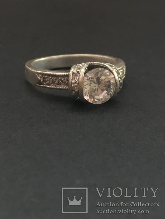 Серебряное кольцо, фото №2