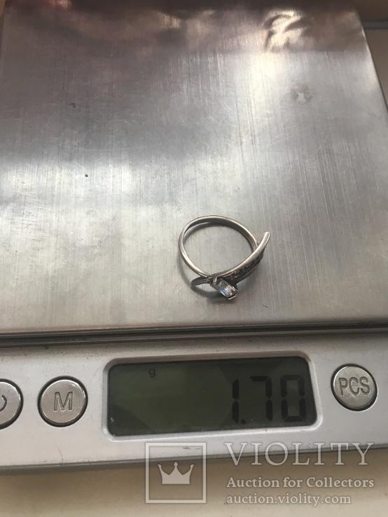 Колечко серебряное, фото №8
