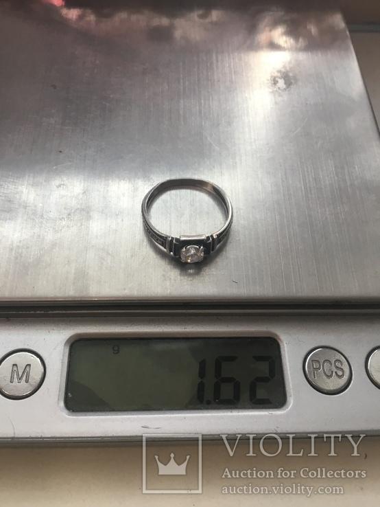 Кольцо серебряное, фото №9
