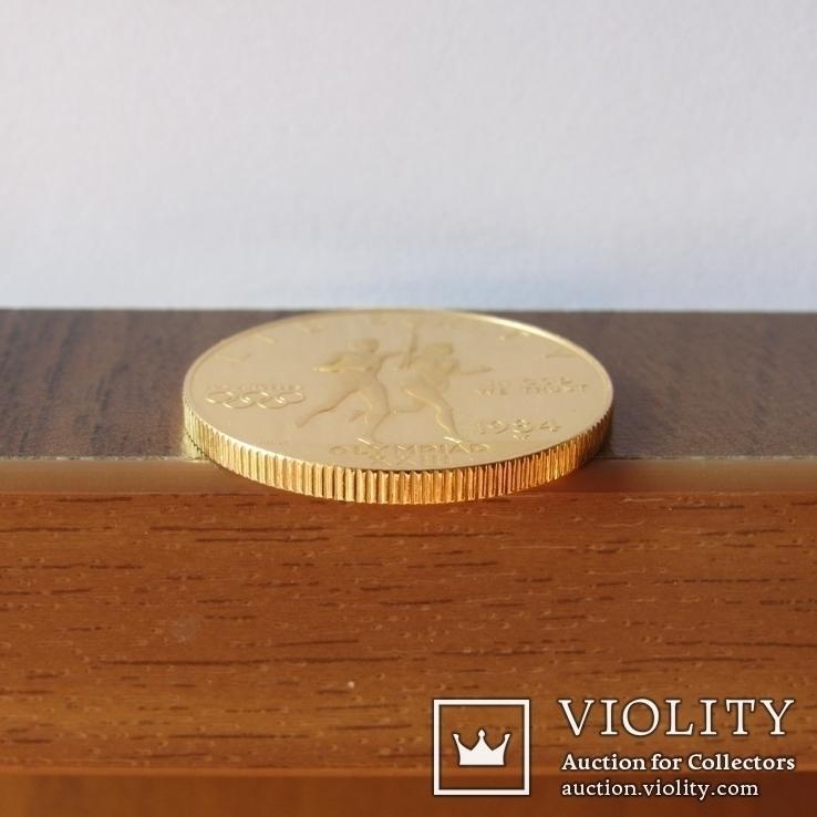 10 долларов 1984 г. США (Олимпиада ХХIII), фото №10
