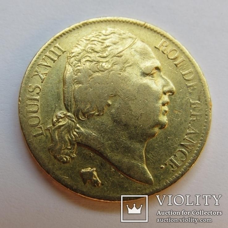 20 франков 1819 г. Франция