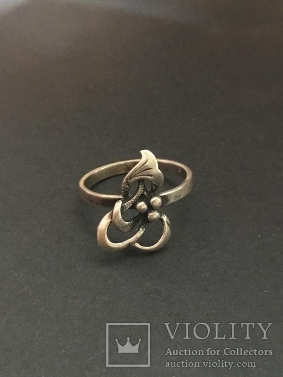 Серебряное колечко, фото №2