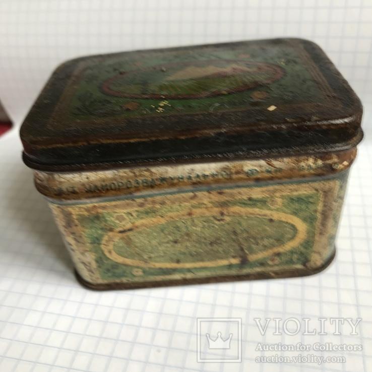 Жестяная коробка чай грузинский гост 1936-1946, фото №3
