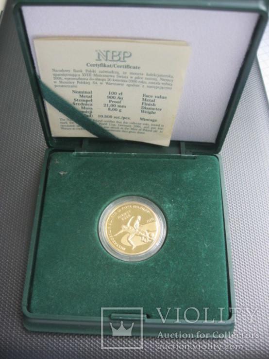 100 злотых 2006 год ЧМ по футболу