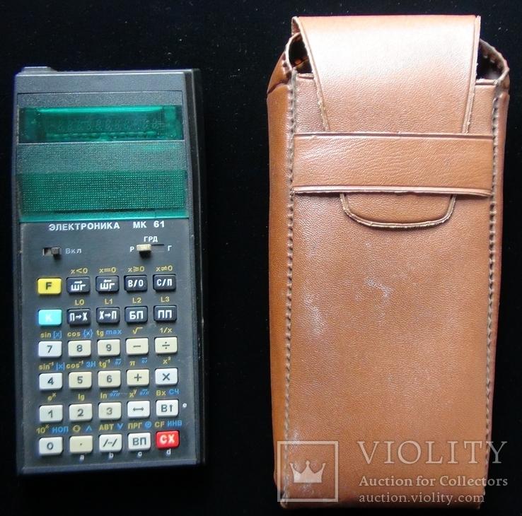 Инженерный калькулятор / Электроника МК 61, фото №3