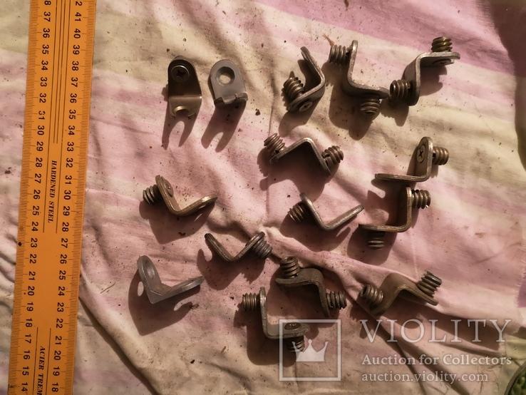 Угловые зажимы мебельные фурнитура СССР шкаф уголки, фото №13