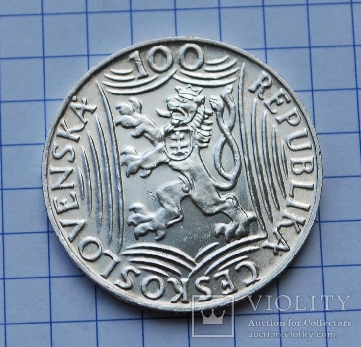 Сталин. Чехословакия. 100 крон., фото №4