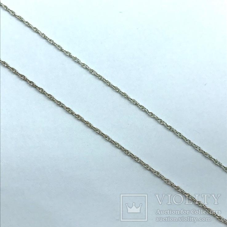 Серьги и подвес серебро на цепочке, фото №9