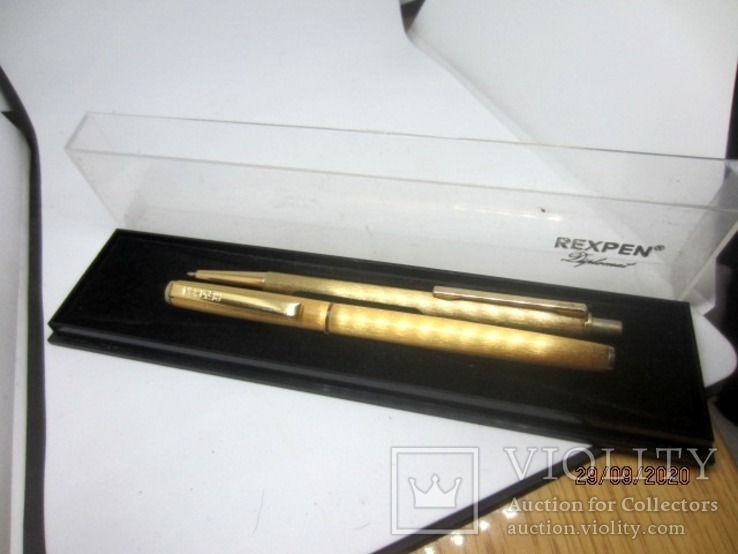 Набор ручки Rexpen Diplomat Германия, фото №9