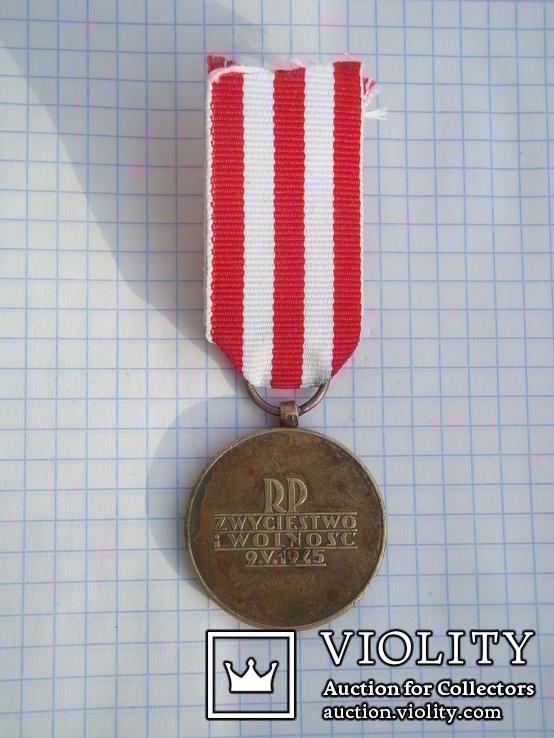 Польша. Медаль Победы и Свободы, фото №5