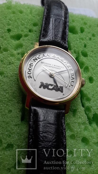 Часы кварцевые Швейцария женские nsaa basketball 2005, фото №3