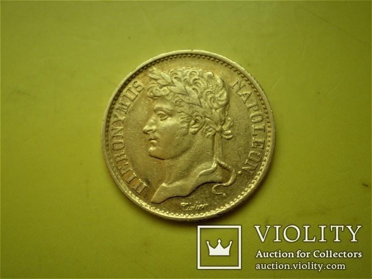 20 франков 1808 г. Вестфалия. Германия(1), фото №2
