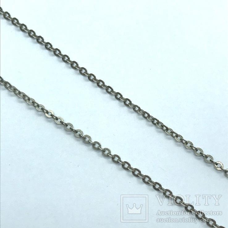 Подвес серебро на цепочке с сапфиром, фото №8