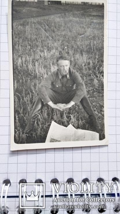 Офицер с трубкой и газетой до 1943 года, фото №5