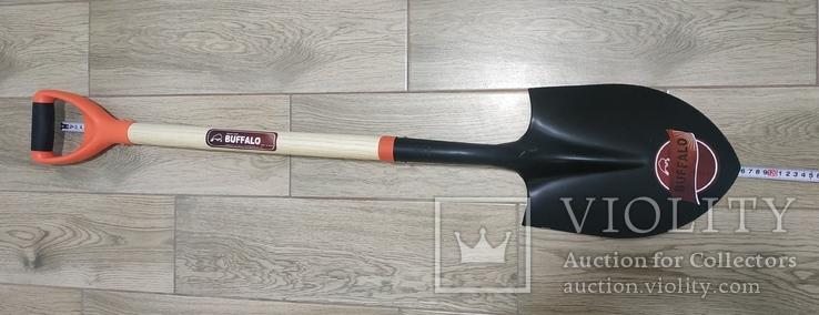 Лопата BUFFALO (американка) з дерев'яним держаком, фото №2