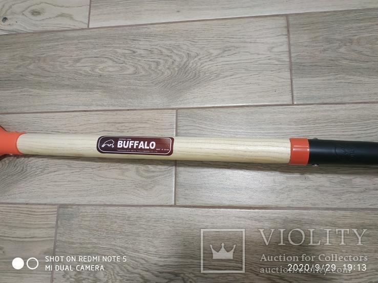 Лопата BUFFALO (американка) з дерев'яним держаком, фото №8