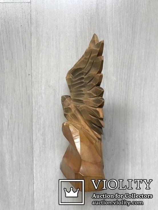 Орёл,16,5см( дерево) б/у, фото №3