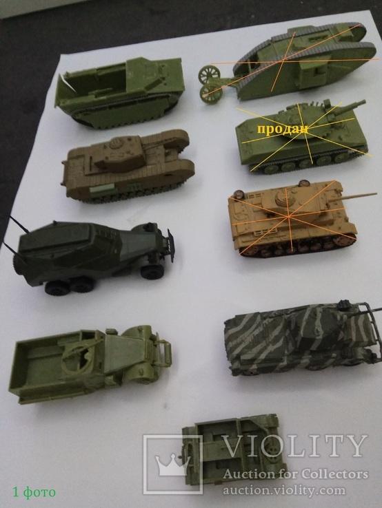 Техника для диорам , танки ,машины ,мотоциклы - масштаб 1-72\1-76, фото №2