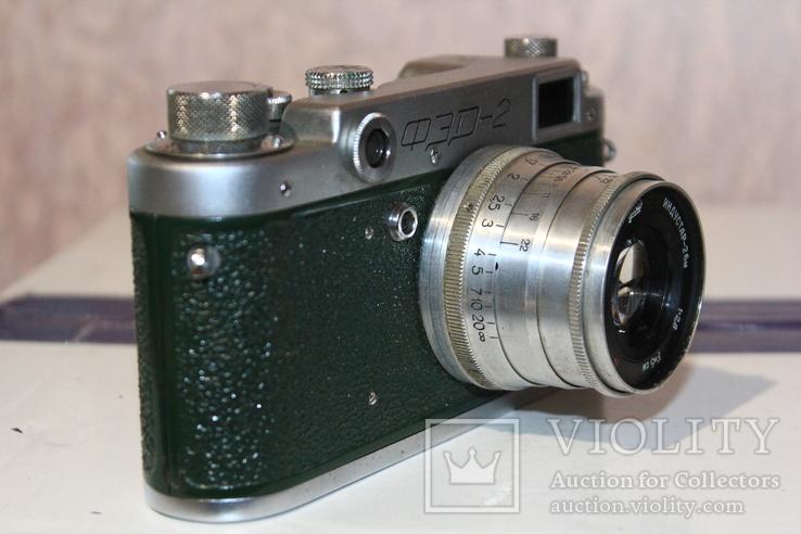 Фотоаппарат ФЭД 2(зеленый корпус)., фото №4