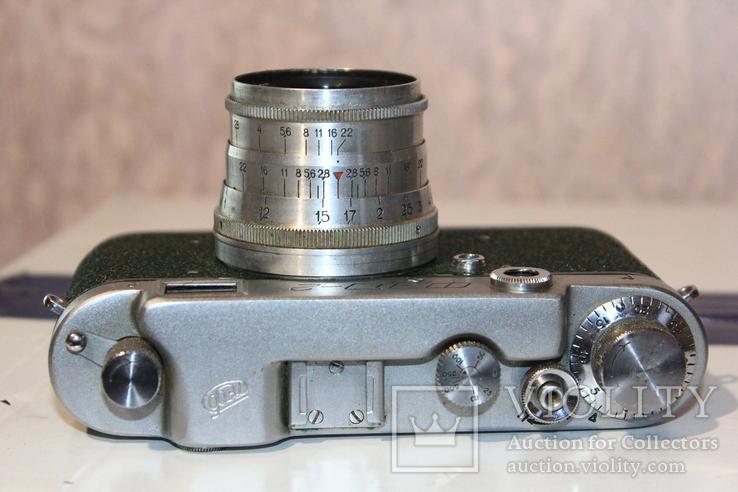 Фотоаппарат ФЭД 2(зеленый корпус)., фото №6