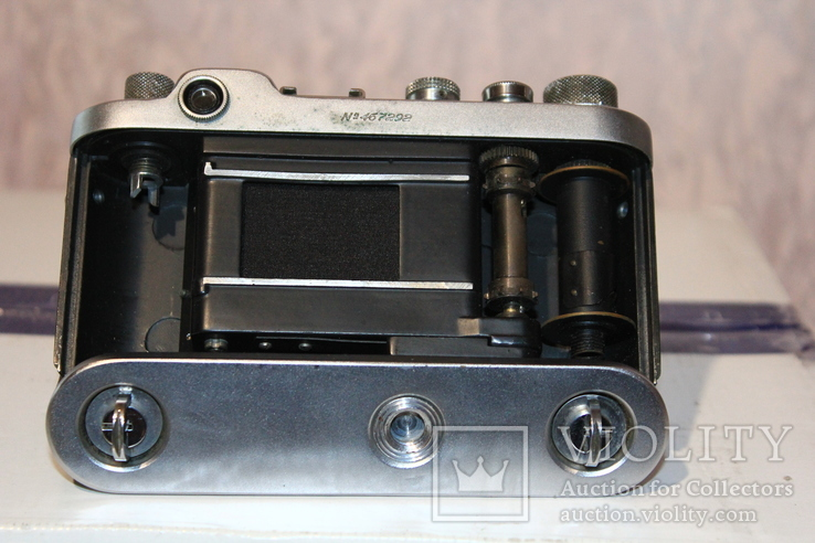 Фотоаппарат ФЭД 2(зеленый корпус)., фото №8