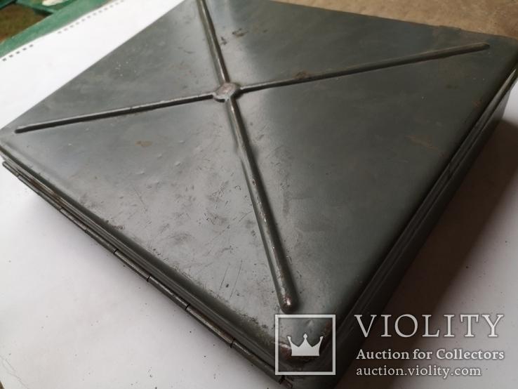 Кейс портфель армейский металический для инструментов саквояж, фото №10