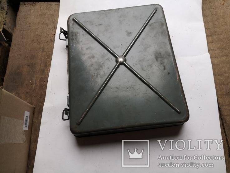 Кейс портфель армейский металический для инструментов саквояж, фото №3