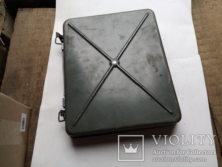 Кейс портфель армейский металический для инструментов саквояж, фото №12