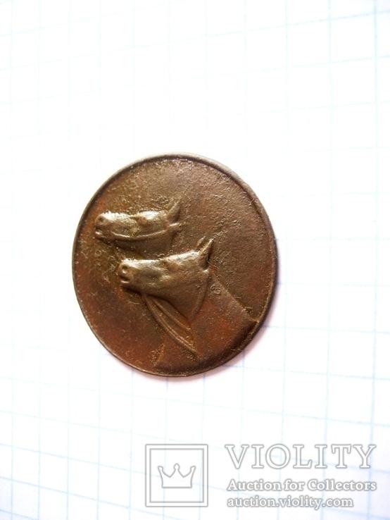 Старовинна медаль за досягнення в конярстві, фото №3