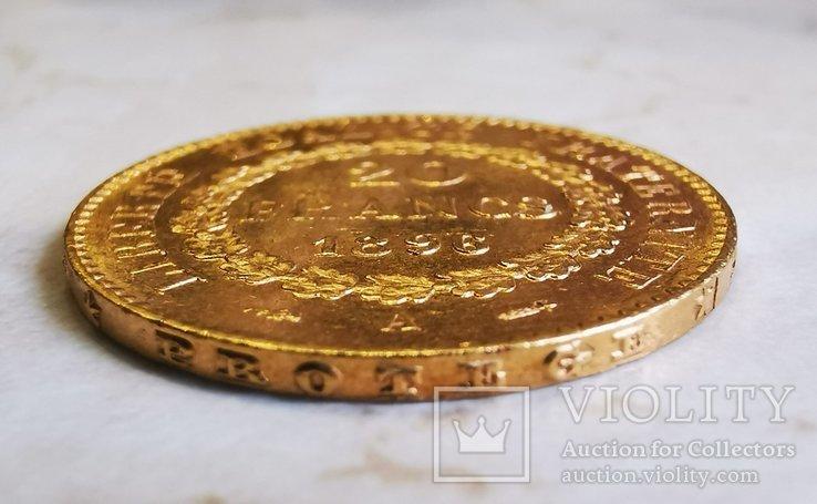 20 франков 1896 г, фото №4