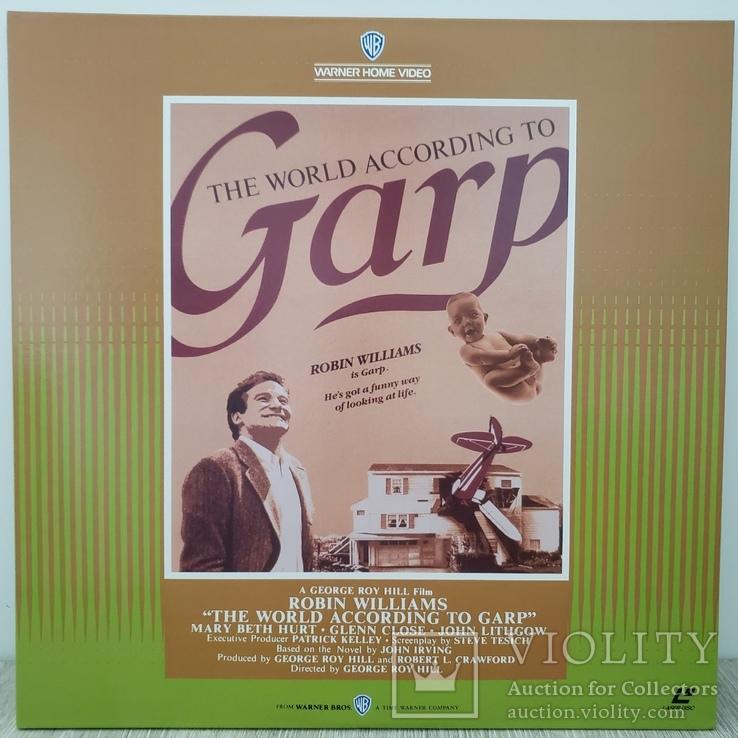 Лазердиск.Laserdisc.Ld.Фильм.Драма. Мир по Гарпу, фото №3