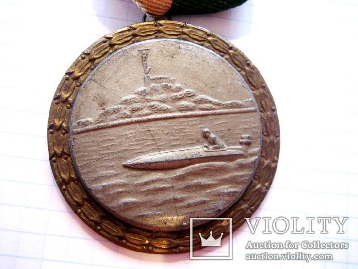 Спортивна медаль - Гонки на моторних човнах, фото №3
