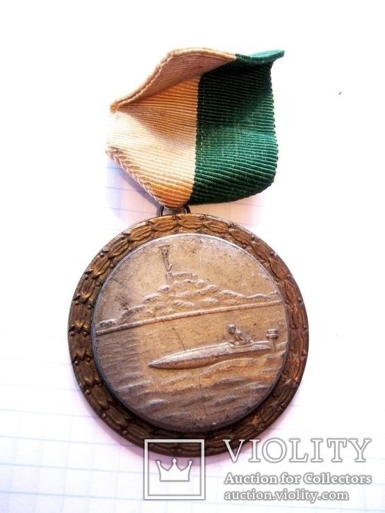 Спортивна медаль - Гонки на моторних човнах, фото №2