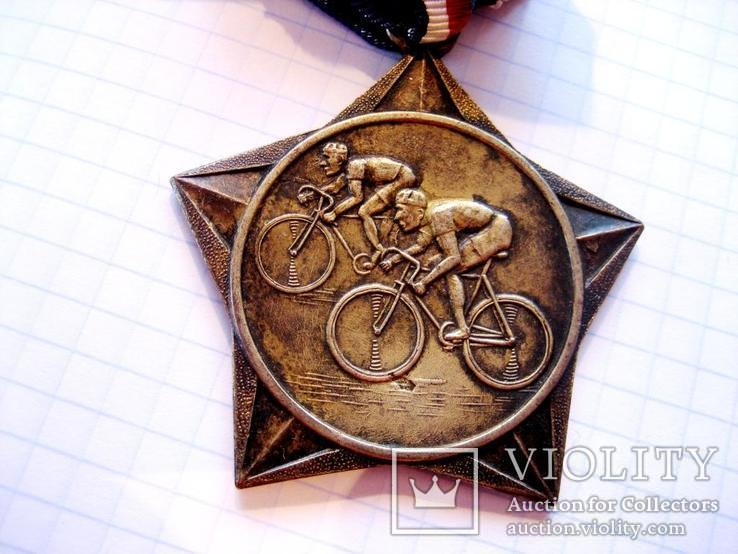 Спортивна медаль - Велоспорт, фото №7