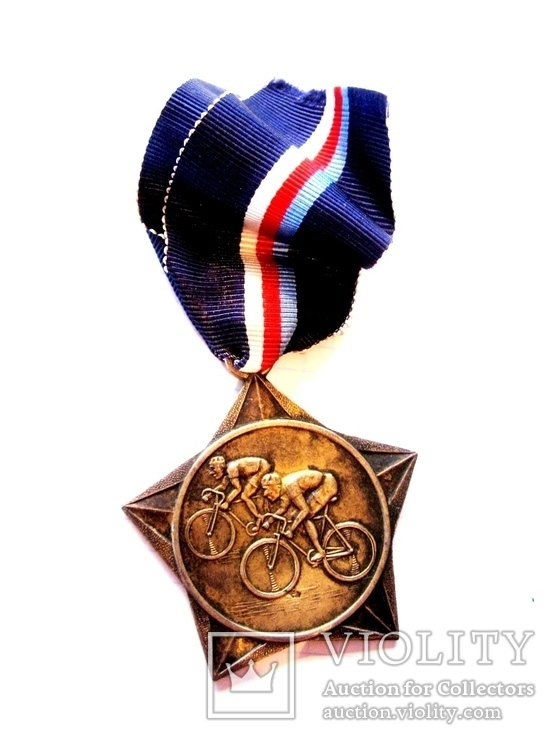 Спортивна медаль - Велоспорт, фото №8