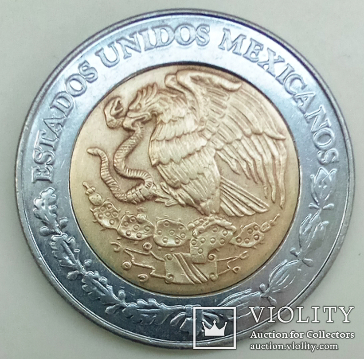5 песо 2005 г. Мексика, фото №2