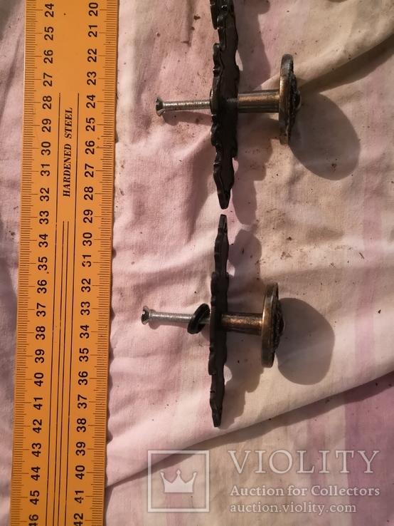 Ручки дверные мебельные фурнитура, фото №12